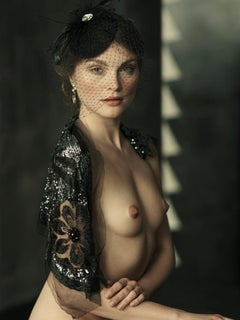 Portrait of a Lady, Nude, woman, contemporary photography