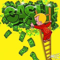 Cash rules everything around me, Street Art, Pop Art, Richie Rich