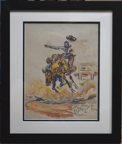 """Bronc Rider"" Rodeo"