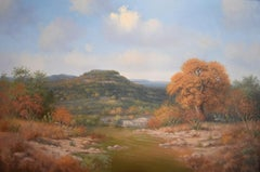 """Fall River Scene Texas Hill Country"""