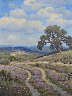 """""""Verbena Road""""  Texas landscape"""