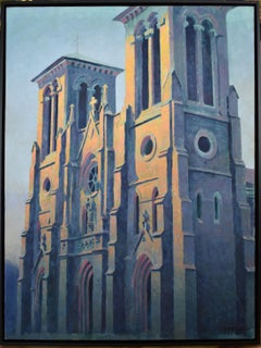 """Morning Light on San Fernando Cathedral"""