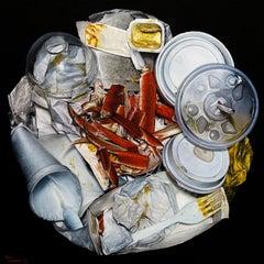 """Feast"" Still Life Oil Painting"