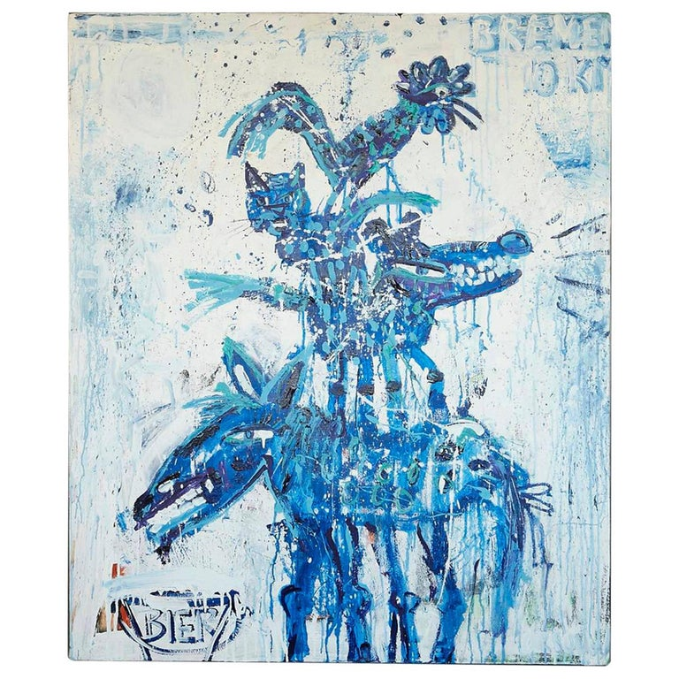 John van Orsouw - Delfts Blauw For Sale at 1stdibs
