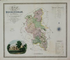 Map of the County of Buckingham From an Actual Survey