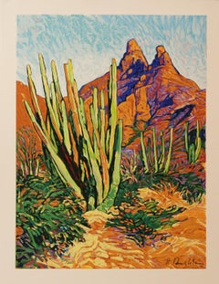 Sonora original serigraph by Robert Daughters