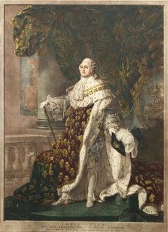 Louis XVI, roi de France et de Navarre revêtu du grand costume royal en 1779