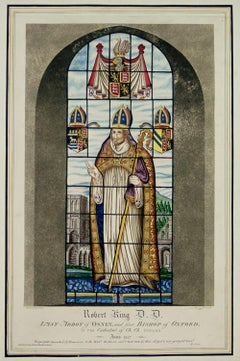 Robert King D.D. Stained Glass Pavement by William Fowler 1808
