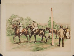 Gymkhana Umbrella Races Rockaway Hunting Club  1890 Sporting Incidents