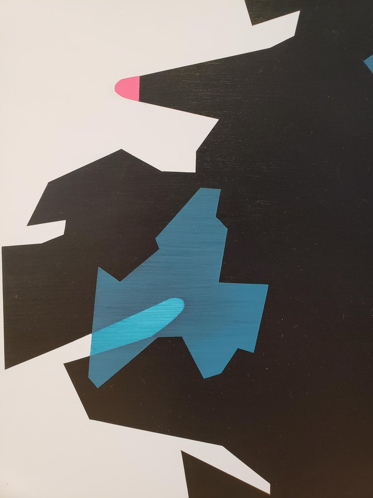 Ernest Regua Abstract Painting