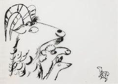 Animal Drawings and Watercolors