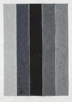 Colored Paper Image IX (Four Grays and Black)