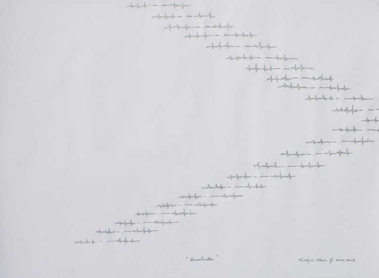 Lidzie Alvisa Abstract Drawing - Escala