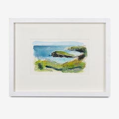 Mixed Media Painting 'Oldshoremore' by Yorkshire artist William Watson-West