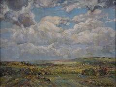 The Menai Straits Wales by William Alison Martin oil painting Modern British Art