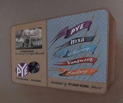 Advertising design for Pye Records Cambridge gouache Mid Century Wireless