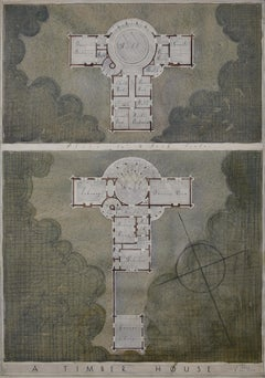 Louis Osman Architectural design for a Timber House goldsmith silversmith