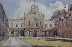 William Thomas Martin Hawksworth Peterhouse Cambridge College painting art