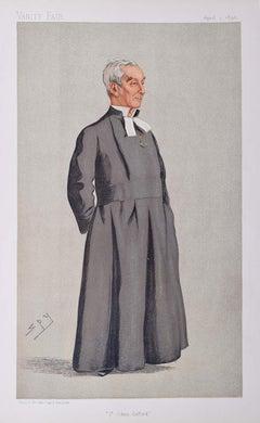 The President of St John's College Oxford Vanity Fair Spy magazine Leslie Ward