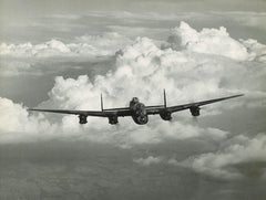Charles E Brown Lancaster Bomber 1941 Black & White original photograph RAF
