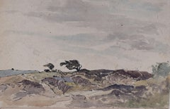 Claude Muncaster Foreground Cadgwith Cornwall Watercolour Modern British Art