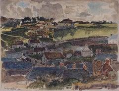 Claude Muncaster Cadgwith Cornwall 1921 Watercolour Modern British Art