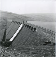 Rosemary Ellis Dam Gelatin Silver Print Photograph for the book:Pipes and Wires