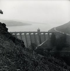 Rosemary Ellis Dam II Silver Gelatin Print Photograph for book: Pipes and Wires
