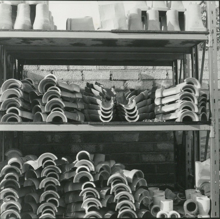 Rosemary Ellis Pipes III Gelatin Silver Print Photogragh surreal Pipes 1975 - Photograph by Rosemary Ellis
