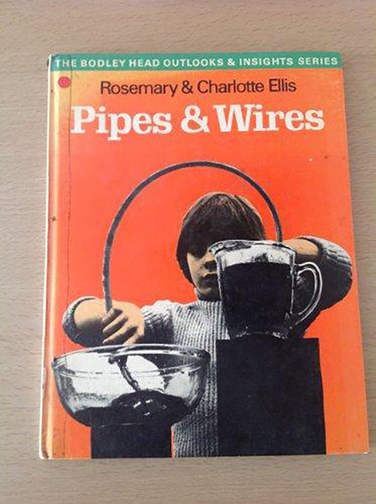 Rosemary Ellis (1910-1988) Pipes V Original photography for Pipes and Wires in the Outlooks and Insights series published by Bodley Head, composed by Rosemary & Charlotte Ellis. Gelatin Silver Print 13x13cm  Rosemary Ellis was well known as a