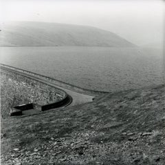 Rosemary Ellis Dam V Gelatin Silver Photograph Print for book: Pipes and Wires