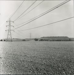 Rosemary Ellis Wires Gelatin Silver Print for book: Pipes and Wires