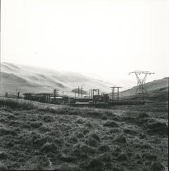 Rosemary Ellis Power Station Gelatin Silver Photograph for book Pipes and Wires