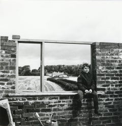 Rosemary Ellis Windows Gelatin Silver photograph Print for book: Windows