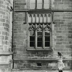 Rosemary Ellis Windows XV Silver Gelatin Photograph Black & White Architectural
