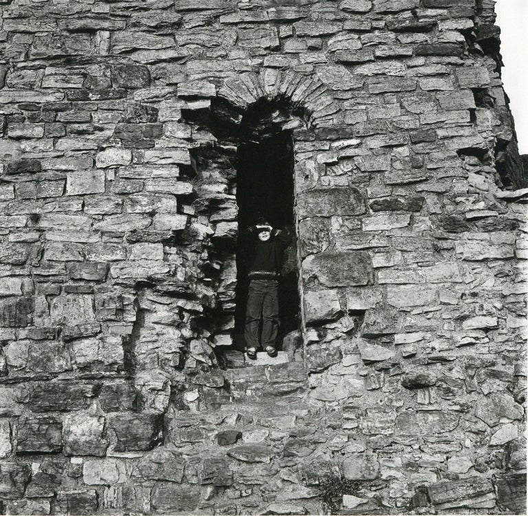 Rosemary Ellis (1910-1988) Windows XVII Original proof photograph for Windows in the Outlooks and Insights series published by Bodley Head, by Rosemary & Charlotte Ellis. Silver Gelatin Photograph Print 13 x 13cm  Rosemary Ellis was well known as a