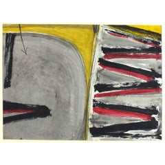 Mid-20th Century Abstract Drawings and Watercolours