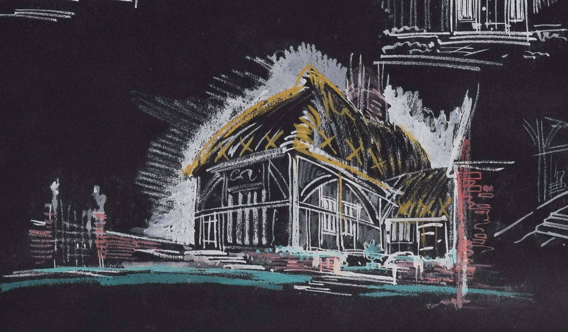Louis Osman architectural design for Barn Conversion at Goudhurst Kent England