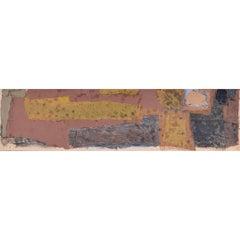Clifford Ellis Collage I Abstract watercolour gouache Mid-Century landscape