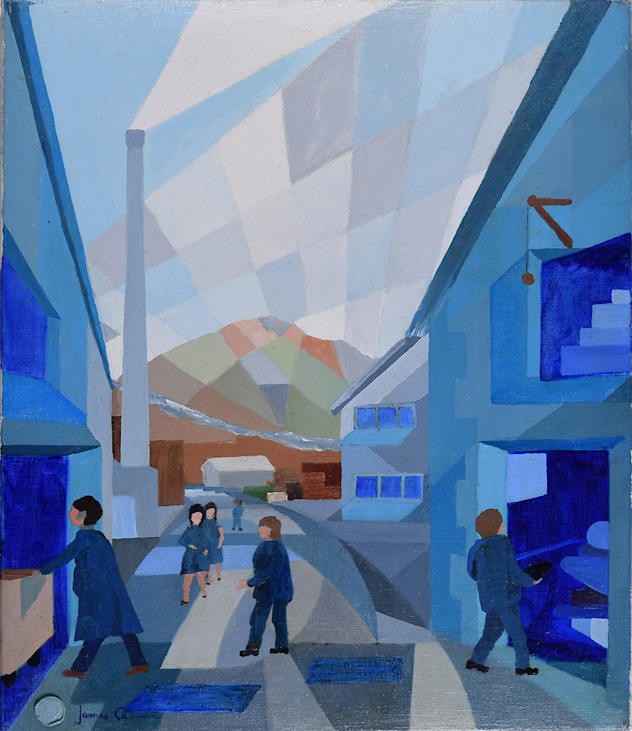 James Gowan FRIBA Blue Mill at Backbarrow Modernist Architect Leicester