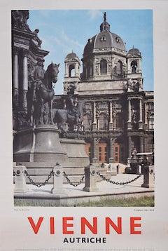 Original Austria Photographic Travel Poster Vienna Musee des Beaux Arts