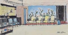 Peter Collins ARCA Mid Century Modern Lounge Interior Modernist House Home