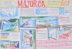 Peter Collins ARCA Design 2 for BEA Panorama Holidays Brochure 1966 Majorca