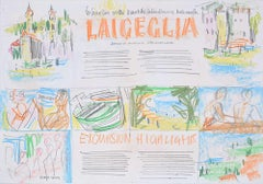 Laigueglia 9 Holiday Brochure Design 1966 Peter Collins ARCA Mid Century Modern