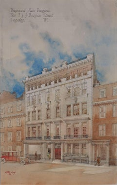 1910s Drawings and Watercolour Paintings