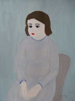 Sitting Girl Unframed