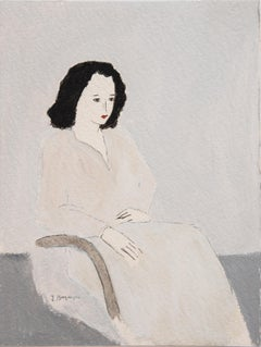 Sitting Woman Unframed