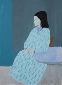Sitting Woman Unframed