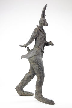 Walking Hare - Fantasy Animal Sculpture
