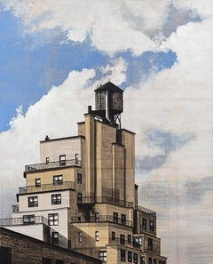 104th and Broadway (New York) - Urban Landscape Painting